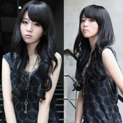 Vktech® Width 25cm Lady Sexy Stylish Long Curl Wavy Clip-on Hair Extension