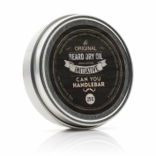 Initiative Beard Dry Oil | Natural Balm, Citrus Scent | 60ml