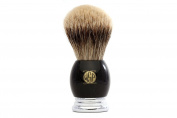 "Large High Density High Mountain White Silvertip Badger Shaving Brush WSP ""Earl"""