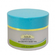 In Grown Hair Gel - Best Ingrown Hair Face Bikini Removal ~ Ingrown on Male Face Removal ~ By Gold Cosmetics & Skin Care