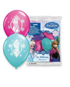 Pioneer National Latex Disney 30cm Frozen Balloons, Assorted, 24ct GUARANTEED 8 of Each Colour