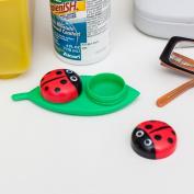 Kikkerland LadyBug Contact Lens Case