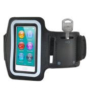 TOOGOO(R) Sports Gym Jogging Black ArmBand Case for Apple iPod Nano 7 7th Generation