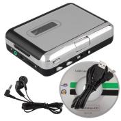 TOOGOO(R) Mini USB Audio Cassette Tape Converter to MP3 CD Player PC