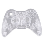 Deler Replacement Parts for XBOX 360 Controller Shell Crystal Clear