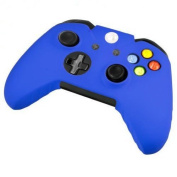 Goliton® New soft silicone protective sleeve case skin cover for XBOX ONE Controller - Blue