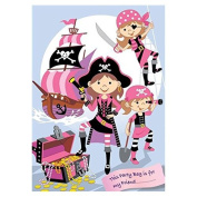 Pink Pirate Filled Party Bag
