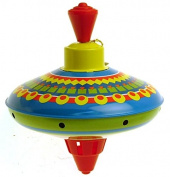 Schylling spinning top small size 12.5 cms design 2