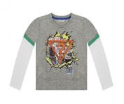 Guess Kids Comic Book Print Long Sleeve T-Shirt