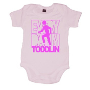 Every Day I'm Toddlin Fun Baby Vest
