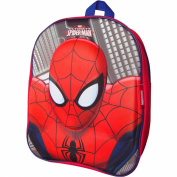 Boy's Marvel Ultimate Spiderman Magic 3D Travel Backpack School Bag