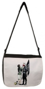 Banksy Punk Mum Messenger Bag