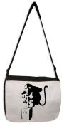 Banksy Detonator Monkey Messenger Bag