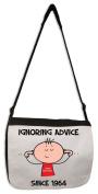 Ignoring Advice Since 1964 Men's 50th Birthday Messenger Bag