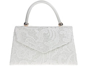 Sugar Sweet Bags Ladies Designer Satin Lace Rigid Box Handbag Clutch Bag Evening Bag K16666