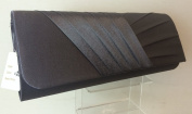 NEW LADIES SATIN PLEATED CLUTCH BAG HANDBAG BRIDAL BRIDESMAID PROM 10 COLOURS FROM Accessorise-me.