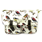 "Designer bag ""Bird Song""beige."