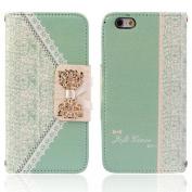 Ukamshop(TM)Vogue Fresh Cute Flip Wallet Leather Case Cover for iPhone 6 12cm