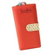 Atdoshop(TM) Fashion Cute Women Long Purse Clutch Wallet Zip Bag Card Holder