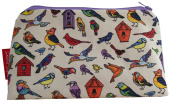 Selina-Jayne Birds Limited Edition Designer Cosmetic Bag