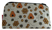 Selina-Jayne Bees Limited Edition Designer Cosmetic Bag