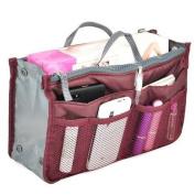 EBASE Multifunctional Carrying Bag Storage Bag W/ Dual Zipper, Red