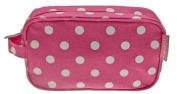Pink DOTTY Make Up Cosmetic Bag Case