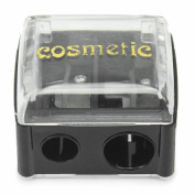 Dual Holes Cosmetic Pencil Sharpener Eyeliner Eyebrow Lip Liner Make Up Tool
