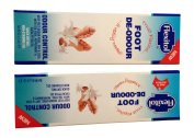 Flexitol Foot/Heel Care Cream, De-Odour Moisturising Balm | Keep Feet Odour Free, Multipack of 2