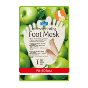 PUREDERM Intensive Healing Foot Mask Apple