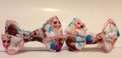 PAIR of Frozen fashion hair bobbles / hair bows / hair accessories www.favourstudio.com