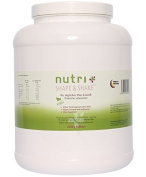 Nutri-Plus Shape & Shake Vegan Strawberry 2000g - Without aspartame, lactose, cholesterol and lactoprotein