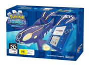 Nintendo 2DS Console Transparent Blue with Pokemon Alpha Sapphire