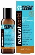 Natural World Moroccan Argan Oil Moisture Repair Hair Treatment Oil 100ml 6 pack