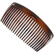 The Brigitte 10cm French Hair Comb (Tortoiseshell) | Made in France | Quality Hair Accessories | Ebuni