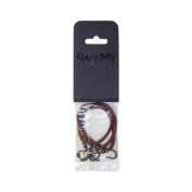 Smoothies Bungee Bands Brown 3pc
