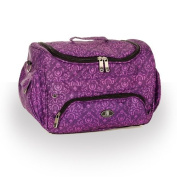 Beauty Bag Imperial Purple Beautician Case Hairdressing Toolbag Salon Storage Holder