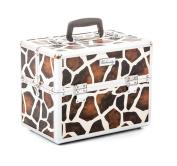 Urbanity Classic Giraffe Professional Aluminium Beauty Cosmetics Makeup Case