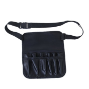 Adjustable Artificial Leather Make-Up Brushes Bag Cosmetic Tools Waist Bag