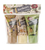 Heathcote and Ivory Gardeners Hand Cream Trio