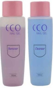 CCO Professional UV LED NAIL GEL Shellac CLEANSER & REMOVER 150ml Bottles