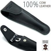 Haryali London 100% Leather Protective / Travel Case for Gillette Mach 3 and Fusion Shaving Razor, Shave razor.
