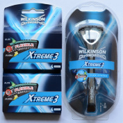 Wilkinson Sword Xtreme 3 / Razor and 10 Blade Set