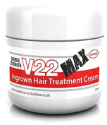 V22 MAX Double Strength Ingrown Hair Treatment Cream - 50ml
