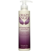 Crazy Angel Self Tanning Lotion With Colour Guide Midnight Kiss Medium / Dark 8% DHA 1000ml