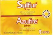 GRISI LARGE 125g 10% sulphur SOAP ACNE BLACKHEAD ECZEMA PSORIASIS DERMATITIS OILY SKIN