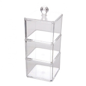 Makeup Craft Cosmetic Clear Acrylic Organiser Container Display #1183