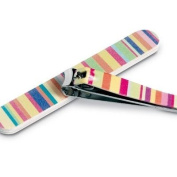 Colourful Manicure Set - Nail File & Clippers