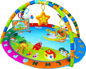 Angel Baby Playmat, Play Gym, Musical Activity Gym mat, with sensory toys