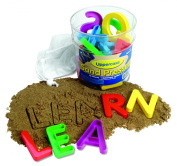 Learning Resources Uppercase Sand Moulds